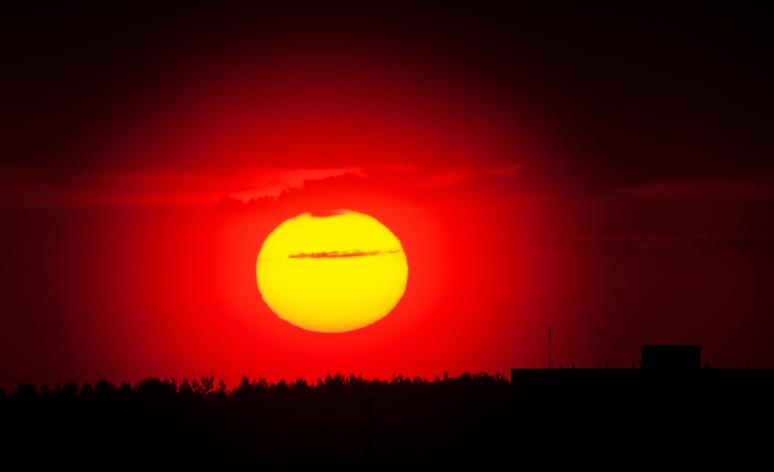 Uinuva aurinko
